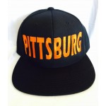 Pittsburg - All Star - Orange - Snapback Hat
