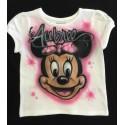 Airbrush t-shirt printing