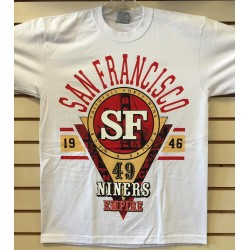 Niners Empire - White - Custom T-Shirt