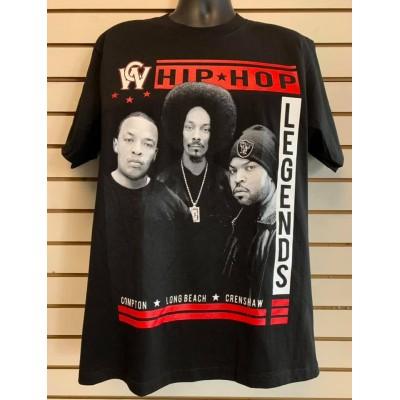 Hip Hop Legends - Black - Custom T-Shirt