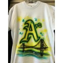 Custom Airbrush t-shirt
