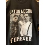 Vatos Locos Forever - Black - Custom T-Shirt