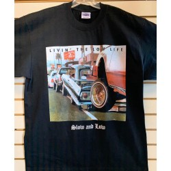 Slow And Low - Black - Custom T-Shirt