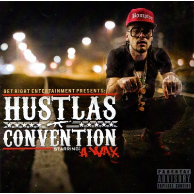 A-Wax - Hustlas Convention - CD