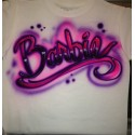 Airbrush custom t shirt printing