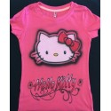 Hello Kitty custom t-shirt