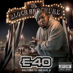 E-40 - Block Brochure - Welcome To The Soil 2 - CD