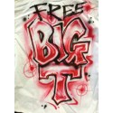 Airbrush custom t shirt