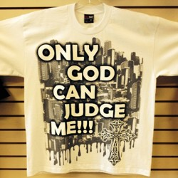 Cx Wear - Only God Can Judge Me - White