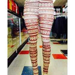 Leggings - Design - Tan