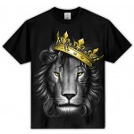 Lion King - Black - Custom T-Shirt