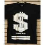 Money Talks - Black - Custom T-Shirt