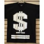 Money Talks - Black - Custom T-Shirt