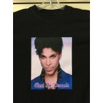 Prince - Rest In Purple - Black - Custom T-Shirt