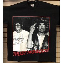 Trust Nobody - Black - Custom T-Shirt